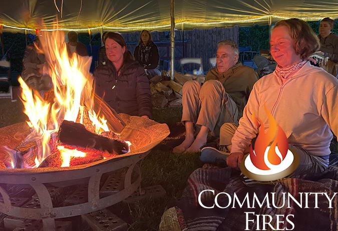 Sacred Fire Community FIre on the Beach