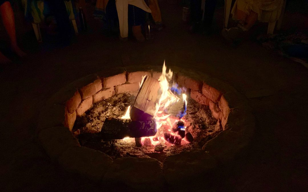Sacred Fire Olympia consecrated fire pit