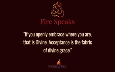 Acceptance Opens the Door of Grace