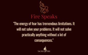 Quote from Grandfather Fire