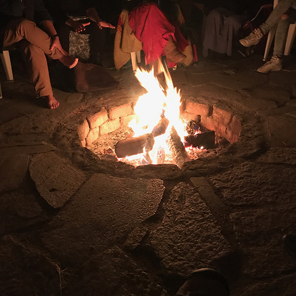 Sacred Fires during Covid